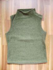 ärmelloser Pullover Fleece Stehkragen grün Size XS Gr. 34 GB 8 US 6
