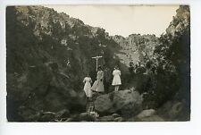 Family on Mountain Outing BOISE Antique RPPC Photo ca. 1913