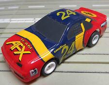 Para de H0 Coche Slot Racing Maqueta de Tren Nascar con Tomy Chasis