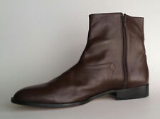 New Men's Boot Franco Leone Size12 Brown HandCrafted Leather Upper,lining & Sole