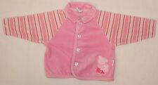 Nikijacke Mädchen-, Baby - Jacke in rosa weiß mit Kragen TOP Größe 68