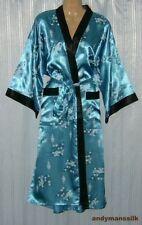 Knee Length Silk Robes for Women