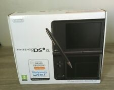 NINTENDO DSi XL DARK BROWN - EMPTY BOX - WITH MANUALS