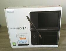NINTENDO DSi XL DARK BROWN - EMPTY BOX - WITH MANUALS