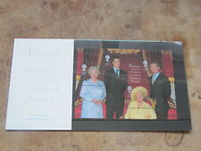 2000 GB Stamps presentation pack - Queen Mother mini sheet