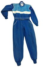 Vintage 1986 Pale Blue SPARCO Race Suit Size 58 NOMEX FIA 06.201.CSAI.87