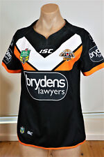WEST TIGERS 2017 HOME JERSEY LADIES SIZE 10   New with tags