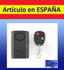 ALARMA+MANDO DISTANCIA anti robo VENTANA seguridad ladrones solo casa coche moto