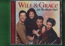 WILL E GRACE LET THE MUSIC OUT CD NUOVO SIGILLATO