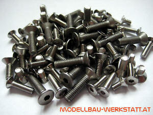 XXL Schrauben Set Bodenplatte Mugen MBX-7R MBX-7 MBX-7T  chassis screw kit