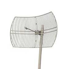 5GHz 5.8Ghz 802.11a ac 30dBi Outdoor Parabolic Grid Antenna N-F Mounting Kit
