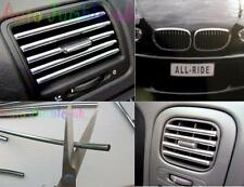 Kia Sportage Crossover Chrome effect air vent car styling GRILL Strip U Shape