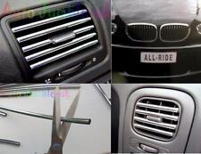 HONDA Civic Type R VTEC Chrome effect air vent car styling GRILL Strip U Shape