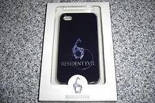 Resident Evil 6 Negro Protector Funda Carcasa Tapa Trasera Para Iphone 4 Y 4s (nuevo)