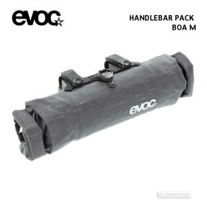 EVOC HANDLEBAR PACK BOA Handlebar Bag Front Bicycle Storage Pack : GREY MEDIUM