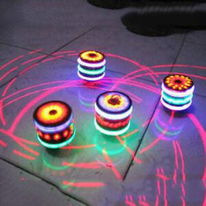 SUPER Spinning Top Gyro Spinner Laser LED Music Flash Light Kids Toys Xmas Gift