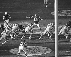 1980 Pittsburgh Steelers vs LA Rams Super Bowl XIV 8x10 Photo JACK LAMBERT Print