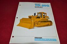 International Harvester Dressler TD-25G Crawler Tractor Dealer's Brochure RPMD 3
