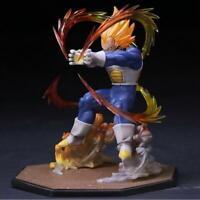 Boys Anime Dragon Ball Z Super Saiyan Vegeta Statue PVC Figure Model Doll Gifts