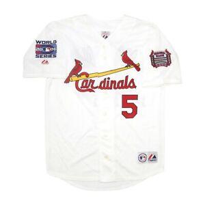 Albert Pujols St. Louis Cardinals 2006 World Series Home Jersey Men's (M-2XL)