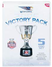 E7 BRAND NEW SEALED AFL Premiers 2006 West Coast Eagles Victory Pack (DVD,2006)