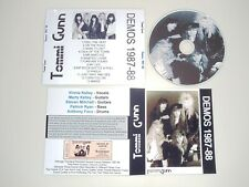TOMMI GUNN -Demos 1987-88 Rare Poison/Jones Street/Firehouse/Roxx/Rock Candy CD