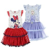 Girls Character Short Sleeves Stylish Play Dress Sizes Age from 2 to 10 Yrs