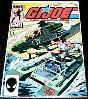 G.I Joe 25 (7.0) 1st Print - 1982 Series Marvel Comics
