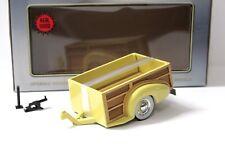 1:18 motor city Chevy Master woody Wagon tráiler Yellow New en Premium-modelcars