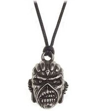 Iron Maiden Book of Souls Pewter Pendant with thong Alchemy Rocks Official Metal