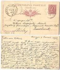 Italia Corregio 1892 Cartolina Postale (Cent.10.) - Innsbruck Tirolo