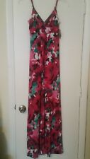 Baby Phat new multicolor floral long maxi dress size extra small xs