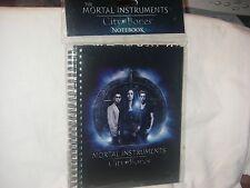 MORTAL INSTRUMENTS CITY OF BONES SPIRAL NOTEBOOK / JOURNAL HARD COVER NEW IN PKG