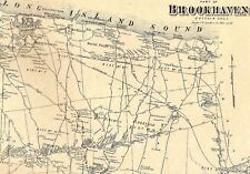 Coram & Selden NY 1873 Maps with Homeowners Names Shown