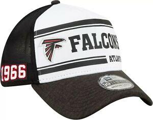 Atlanta Falcons Hat ATL New Era 39Thirty Flex-Fit Cap Size M/L Trucker A-Frame