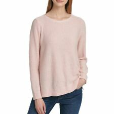 DKNY NEW Women's Sequined Pullover Crewneck Sweater Top TEDO