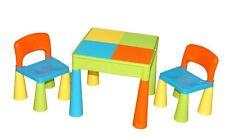 Mehrfarbige Tische- und Stühle-Sets für Kinder