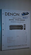 Denon pma-680r service manual original repair book stereo amp amplifier