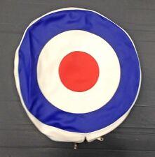Spare wheel cover MOD target for Vespa LML & Lambretta