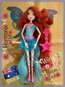 🌺 Winx Club 🌺 BLOOM Harmonix Doll- Collectable & RARE- JAKKS Pacific Fairy