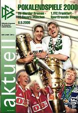 DFB-Pokalendspiel 2000 SV Werder Bremen - FC Bayern München, 06.05.2000