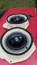 S14 Nissan 240SX Door Speaker Pods With Scosche 6.5s