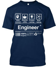 Custom Engineer ! - Skills Included Requires Coffee Standard Unisex T-shirt