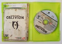The Elder Scrolls IV: Oblivion (Microsoft Xbox 360, 2006) - Complete with Manual