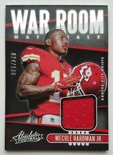 2019 Panini Absolute Mecole Hardman Jr. 24/130 Jersey Card