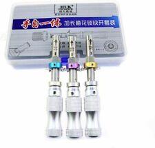 3Pcs/Set Full Kit Accessories Tubular 7 Pins Lock Smith Tools Equipment