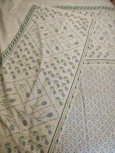 Vintage 1980's Fabric.  Tulip Panel.