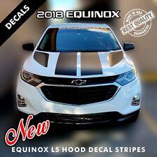 Chevrolet Equinox LS 4 Hood Decal Stripes Pre Cut Fits 2018 Models |2