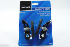 XLC Alloy Cantilever Brake BR-C01 Black-Bicycle Cantilever Replacement Brake