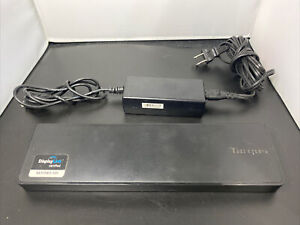 Targus ACP70USZ DisplayLink HDMI DVI Dual Video Dock Docking Station w/ USB 3.0